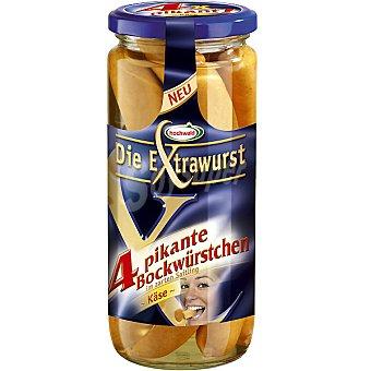 hochwald Salchicha Frankfurt con queso Frasco 250 g neto escurrido