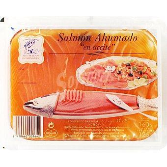 Ahumados Domínguez Salmón ahumado en aceite Envase 125 g