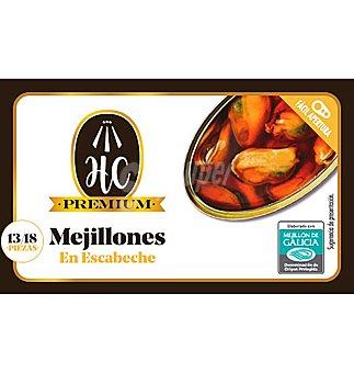 MEJILLONES HC ESCABECHE 13-18 PIEZAS 69 G 69 G