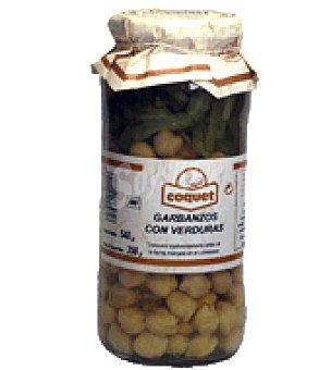 Coquet Garbanzos con verduras 350 g