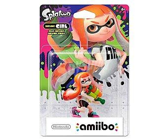 Nintendo Figura Amiibo Splatoon chica compatible con wiiu y New 3Ds y New 3Ds XL. 1 unidad