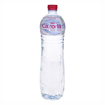 Sierra Cazorla agua mineral natural botella  1,5 l