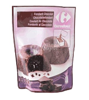 Carrefour Coulant de chocolate 550 g