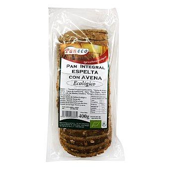 Paneco Pan integral espelta con avena ecológico 400 g