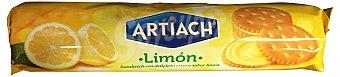 ARTIACH Galleta rellena limón Paquete de 150 g