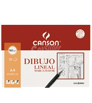 Canson Minipack A4 dibujo lineal