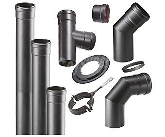 Kokido Kit de tubos para salida de humos para estufas de pellets 1 unidad