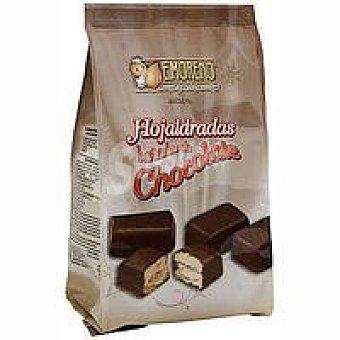 E.moreno Hojaldradas bañadas con chocolate Bolsa 300 g