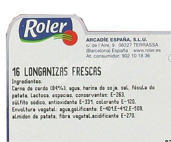 Roler Salchicha fresca 16 unidades 720 gramos