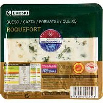 Eroski Queso Roquefort Tarrina 100 g