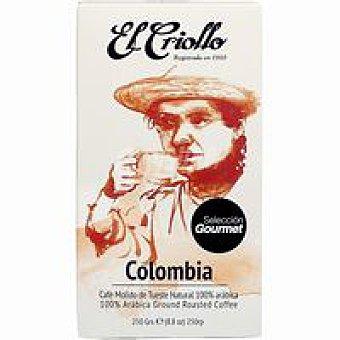 EL CRIOLLO Café molido gourmet 250 g