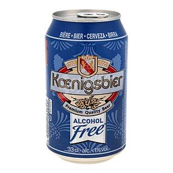 Koenigsbier Cerveza sin alcohol lata 33 cl