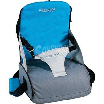 Olmitos M-200 Bolso silla de viaje en color azul gris +12 meses