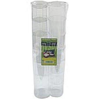 El Corte Inglés Vaso de tubo Paquete 10 unidades