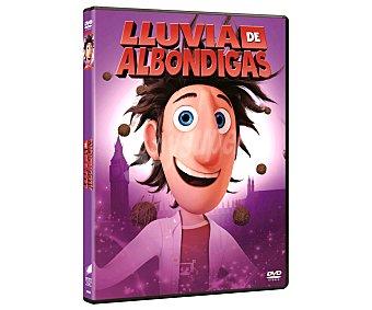 Sony Lluvia de albóndigas, película en Dvd. Género: animación infantil. Edad: TP.
