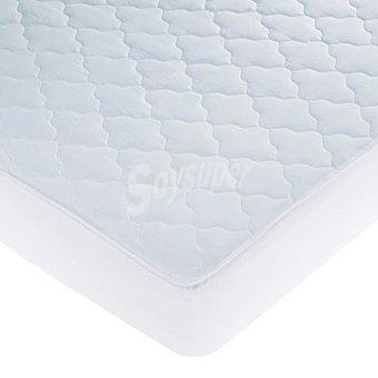 CASACTUAL New Livor Protector de colchón acolchado e impermeable para cama de 105 cm