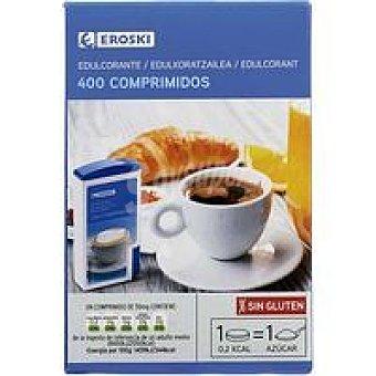 Eroski Edulcorante en comprimidos Dosificador 400 unid