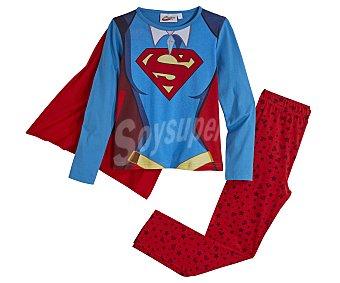 Wonderwoman Pijama disfraz de niña talla 8.