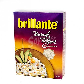 BRILLANTE Arroz basmati Brajma  paquete 1 kg