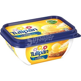 TULIPAN Margarina con sabor a mantequilla Envase de 250 g