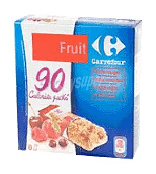 Carrefour Bar. Fruit & Form Carrefour Caja de 6 uds