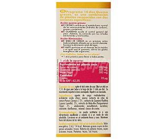 Cellislim Quemagrasas con sabor a piña (2 acciones: quema grasas y eliminación) 14 unidades