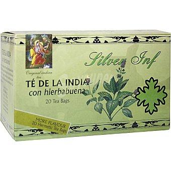 Silver inf Té negro de la India con hierbabuena Estuche 20 sobres