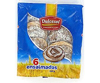 Dulcesol Ensaimadas 6 unidades 220 GRS