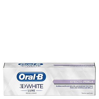 Oral -B Dentífrico 3D White Luxe efecto perla 75 ml