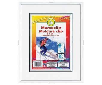 Productos Económicos Alcampo Marco de 18x24cm con cierre de clip alcampo