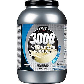 QNT 3000 Weight Gain sabor vainilla  bote 1,3 g