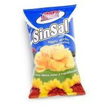 007 Snacks Patatas sin sal Bolsa 120 g