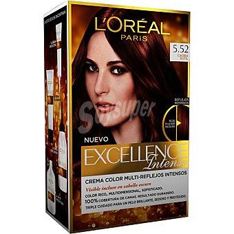Excellence L'Oréal Paris Intense tinte Caoba Sutil nº 5.52 caja 1 unidad crema color multi-reflejos intensos 1 unidad