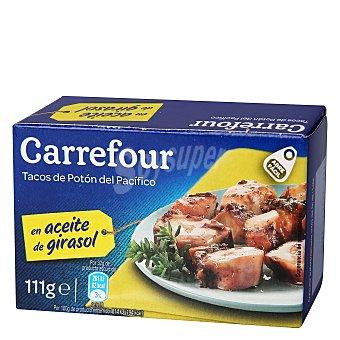 Carrefour Tacos de pota en aceite de girasol 65 g