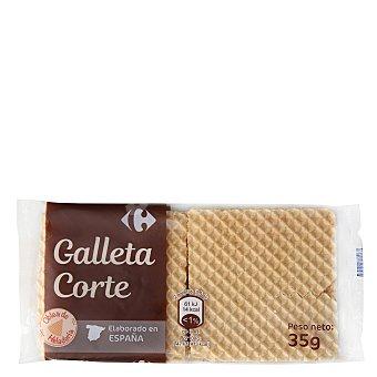 Carrefour Oblea barquillo crujiente 35 g