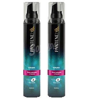 Pantene Pro-v Espuma para rizos definidos y suaves Pack de 2x200 ml