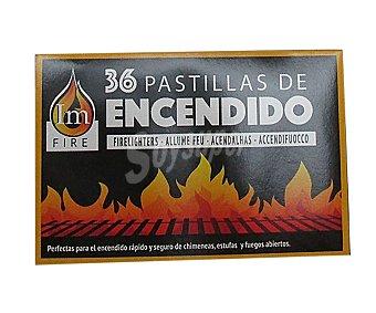 Euraspa Pastillas de encendido para barbacoa, euraspa 200 gr