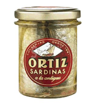 Conservas Ortiz Sardinas a la antigua 140 g