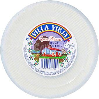 VILLA VIEJA Queso fresco de cabra  2 kg (peso aproximado pieza)