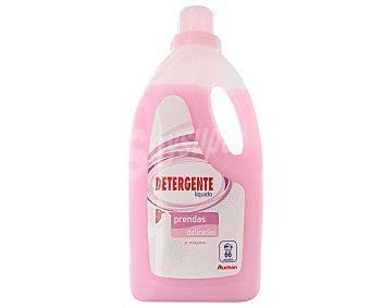 Auchan Detergente líquido para lavadora, especial prendas delicadas 66 lavados