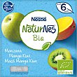 Postre de manzana, mango y kiwi ecológico y sin gluten bio Pack 4 envases x 90 g Naturnés Nestlé