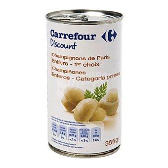 Carrefour Discount Champiñón entero 185 g