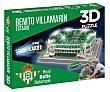Puzzle en 3D Benito Villamarín, estadio del Real Betis Balompié, Force. Eleven Force
