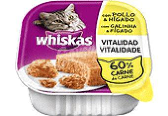 Whiskas Comida gato pollo 100 GRS