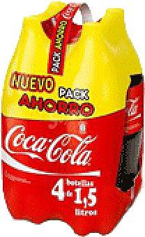 Coca-Cola REFRESCO PACK 4X 1.5 LTS