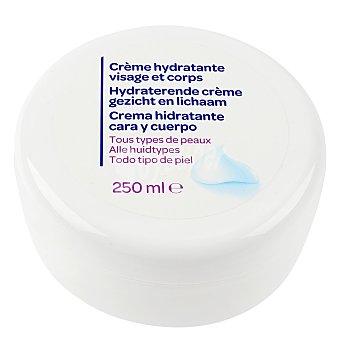 Carrefour Crema hidratante corporal y facial 250 ml