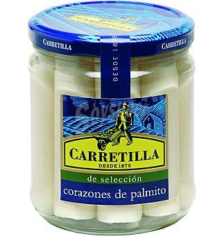 Carretilla Palmitos corazones 420 GRS