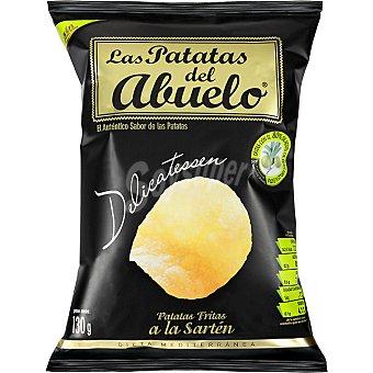 LAS PATATAS DEL ABUELO Onduladas patatas fritas a la sartén Bolsa 130 g