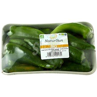 Pimiento verde italiano ecológico bandeja 500 g