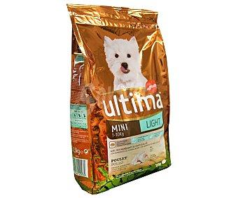 Ultima Affinity Alimento light para perro mini Saco 1,5 kg